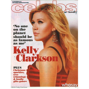 Kelly Clarkson, Sunday Mirror Magazine, WhoSay