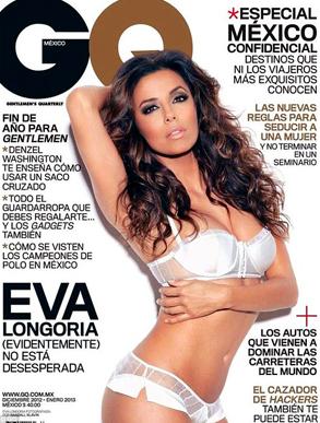Eva Longoria, GQ Mexico