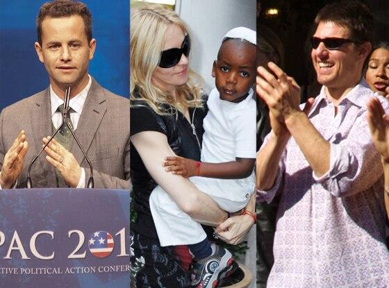 Celeb Religion, Kirk Cameron, Madonna, Tom Cruise