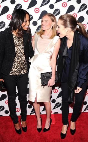 Zoe Saldana, Kate Bosworth, Allison Williams