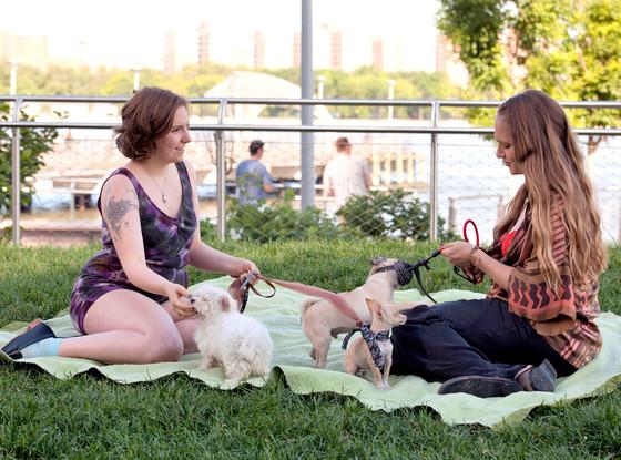 Girls, Lena Dunham, Jemima Kirke