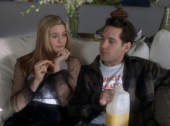 Clueless, Alicia Silverstone, Paul Rudd