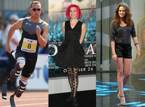Lana Wachowski, Kristen Stewart, Oscar Pistorius