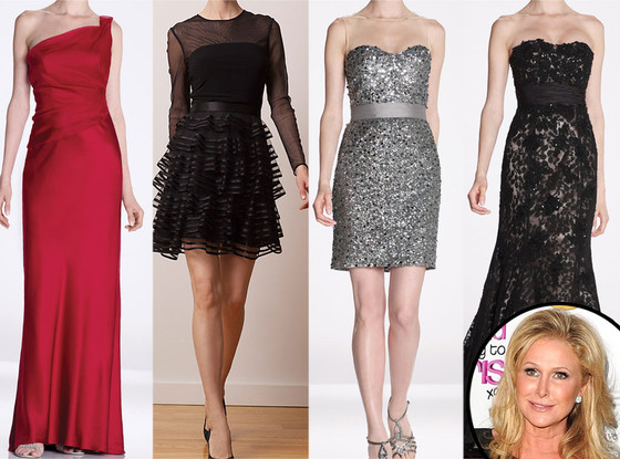 Kathy Hilton, Dresses