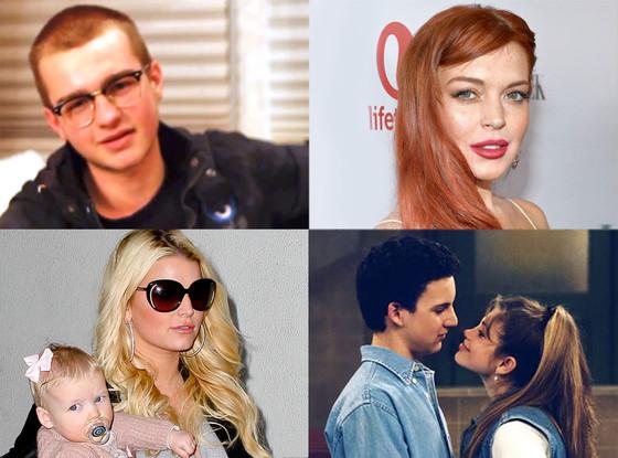 Angus Jones, Lindsay Lohan, Jessica Simpson, Boy Meets World