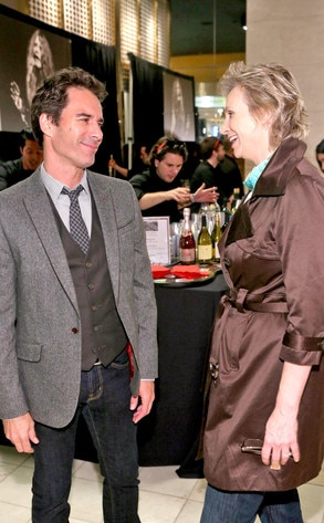 Eric McCormack, Jane Lynch