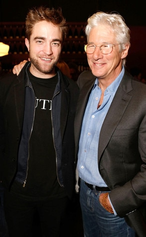Robert Pattinson, Richard Gere