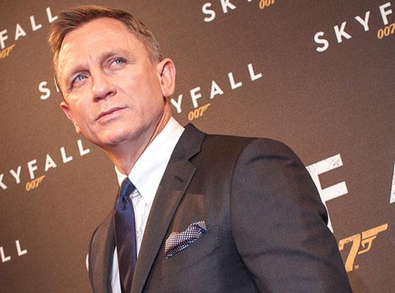Daniel Craig, Skyfall Paris Premiere