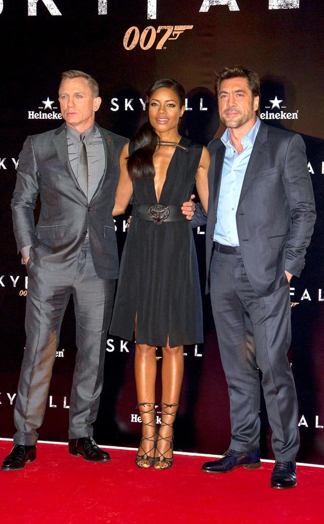 Daniel Craig, Naomie Harris, Javier Bardem