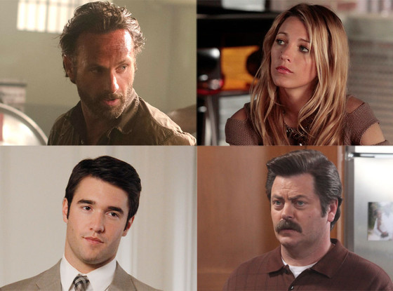 Andrew Lincoln, Blake Lively, Nick Offerman, Joshua Bowman