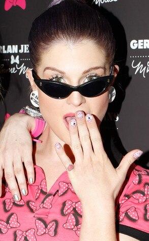 Kelly Osbourne, manicure