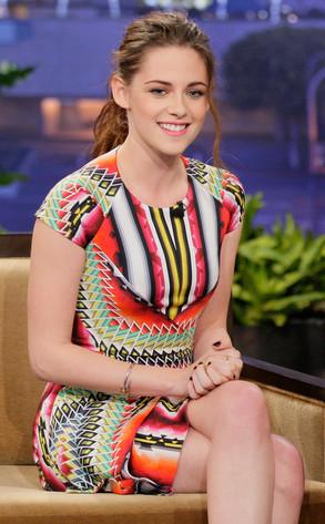 Kristen Stewart, Jay Leno, Tonight Show