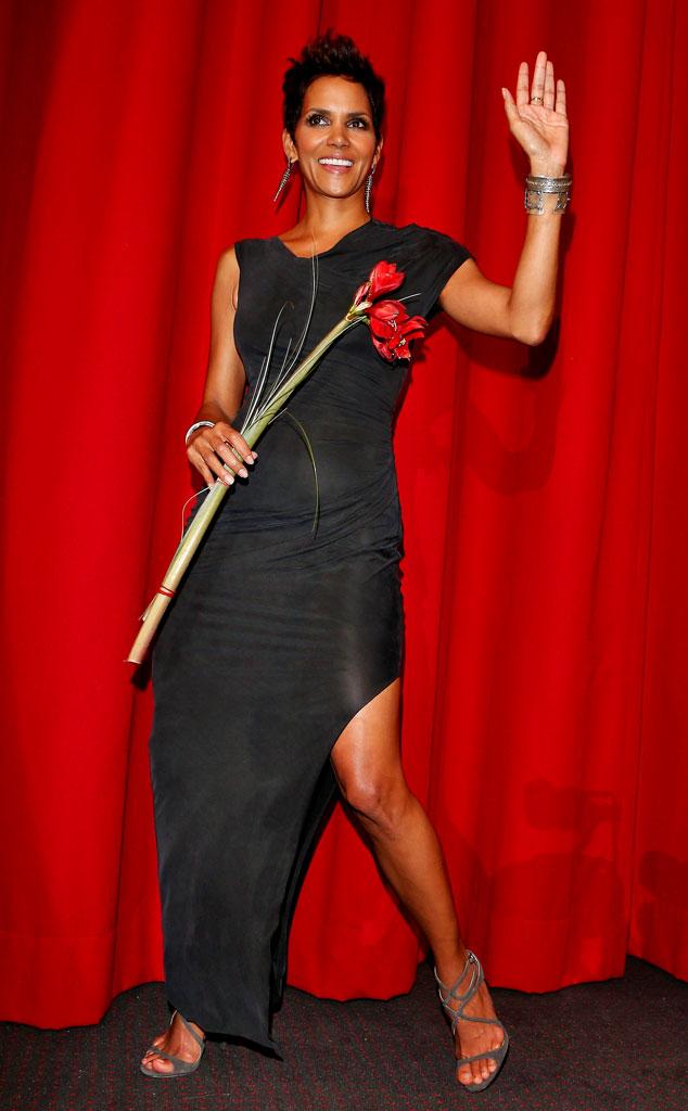 Flower Power From Halle Berry 39 S Best Looks E News