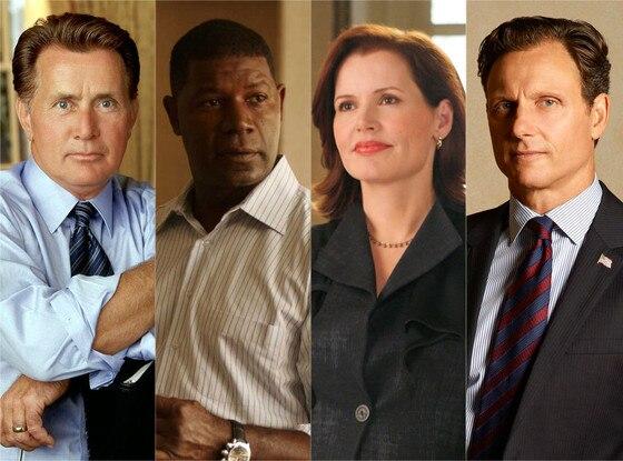 TV Presidents, Martin Sheen, Dennis Haysbert, Geena Davis, Tony Goldwyn