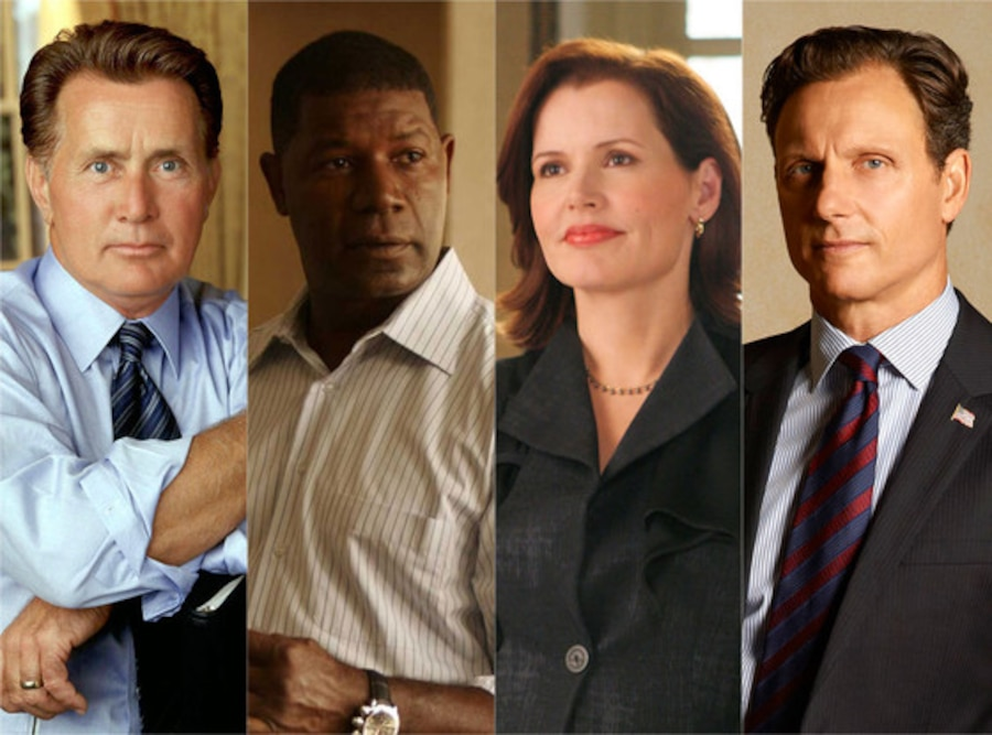 TV Presidents, Martin Sheen, Dennis Haysbert, Geena Davis, Tony Goldwyn