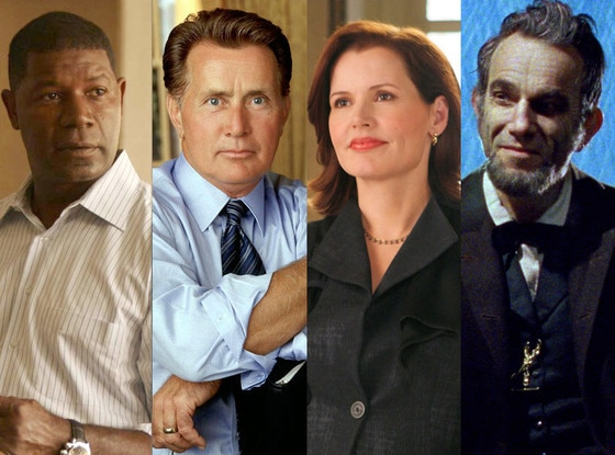 TV Presidents, Martin Sheen, Dennis Haysbert, Geena Davis, Daniel Day-Lewis
