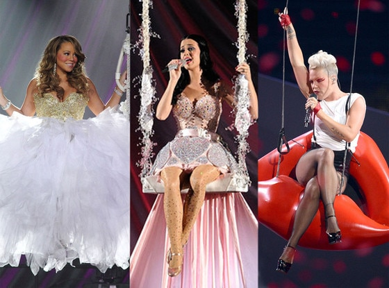 Mariah Carey, Pink, Katy Perry