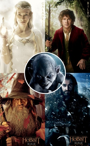 Hobbit Posters First L...