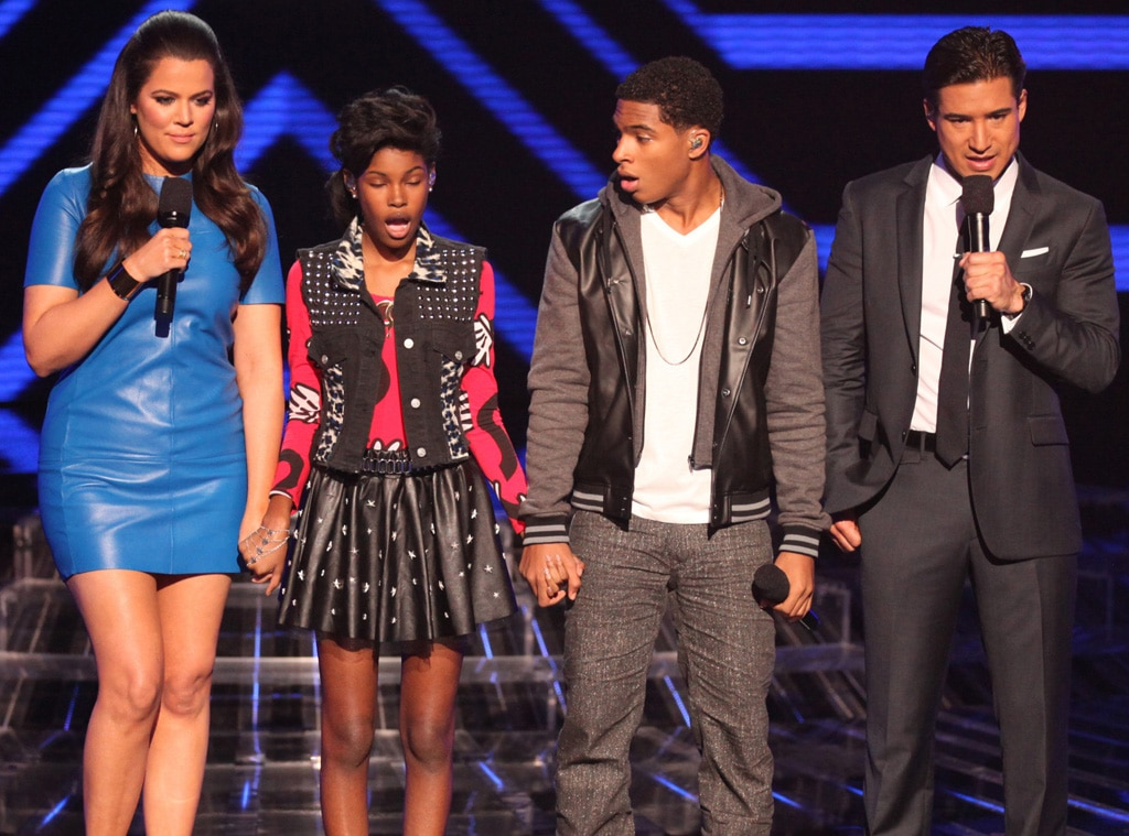 THE X FACTOR, Diamond White, Arin Ray, Mario Lopez