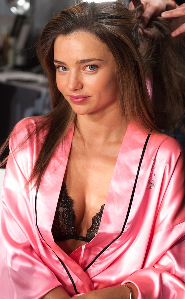 Miranda Kerr, Victoria's Secret, no make-up