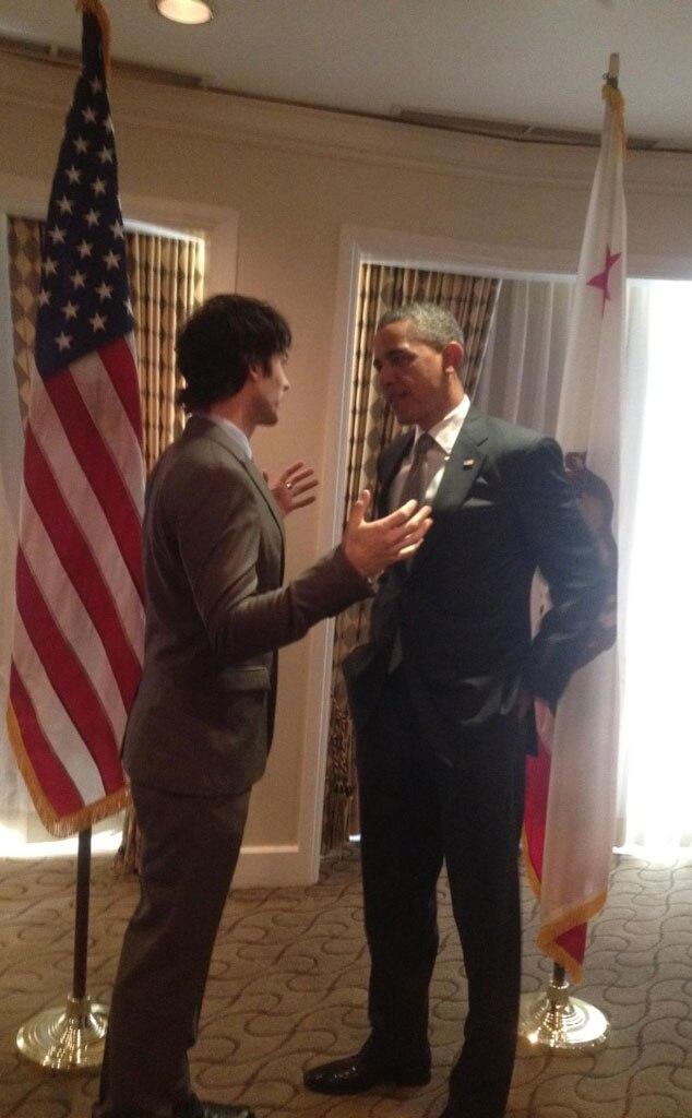 Election Twit Pic, Ian Somerhalder