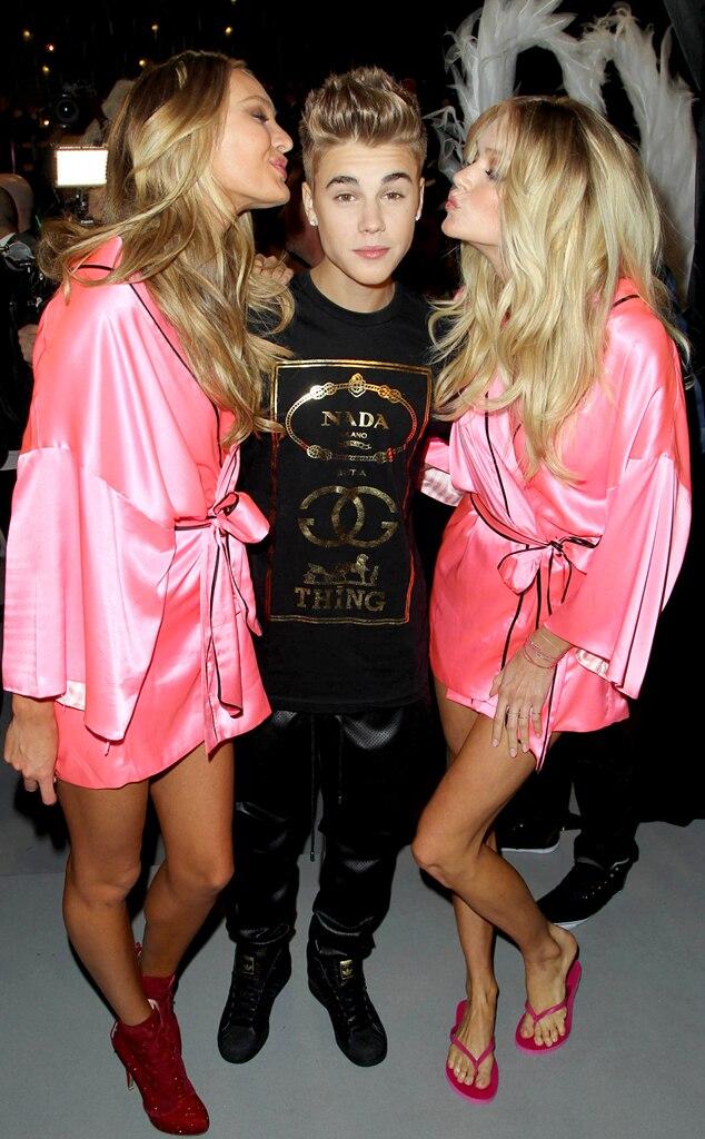 Candance Swanepoel, Justin Bieber, Lindsay Ellingson