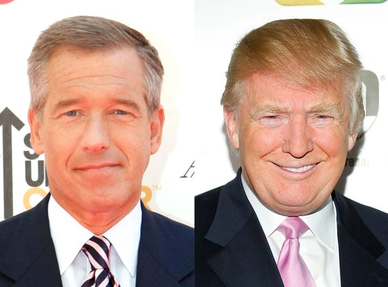 Brian Williams, Donald Trump