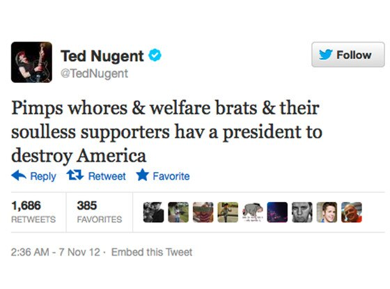 Republican Celeb Tweets