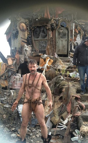 David Arquette, Twit Pic