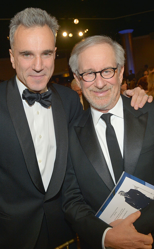Daniel Day-Lewis, Steven Spielberg