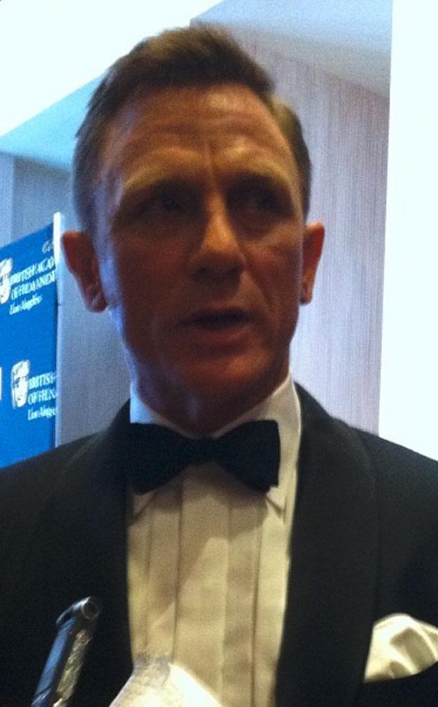 Daniel Craig, Twit Pic