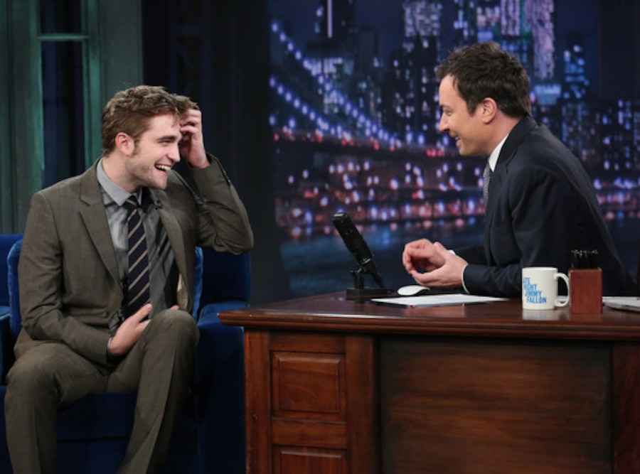 Robert Pattinson, Jimmy Fallon