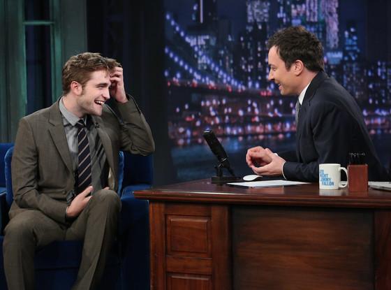 Robert Pattinson, Jimmy Fallon