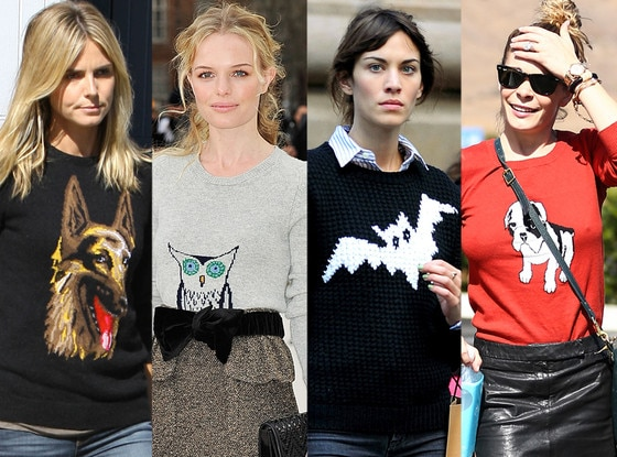 Heidi Klum, Kate Bosworth, Alexa Chung, LeAnn Rimes