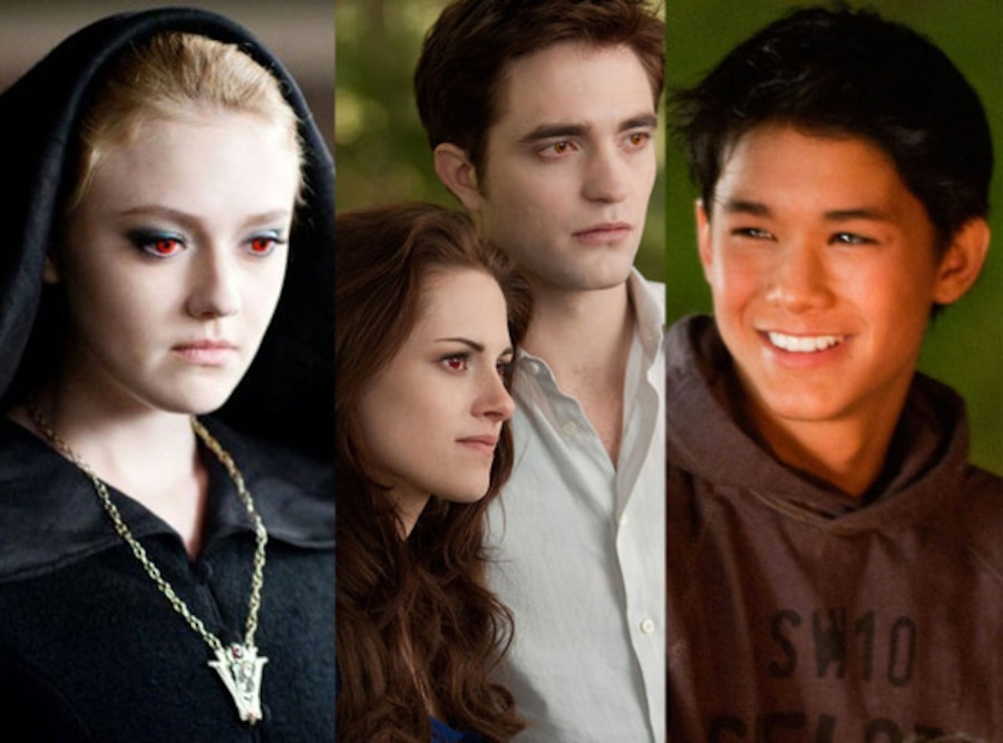 Twilight, Dakota Fanning, Kristen Stewart, Robert Pattinson, BooBoo Stewart