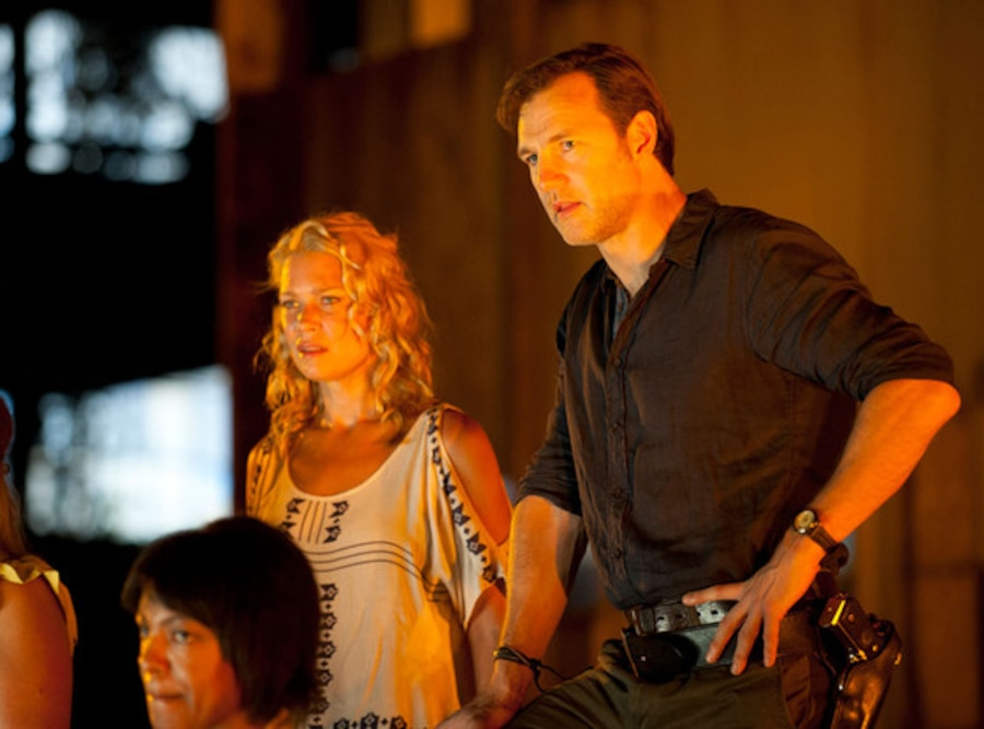 Laurie Holden, David Morrissey, The Walking Dead