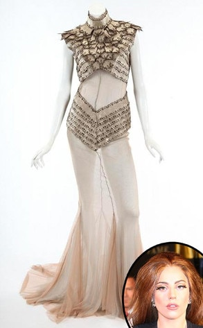 Lady Gaga, Gavriilidis Dress
