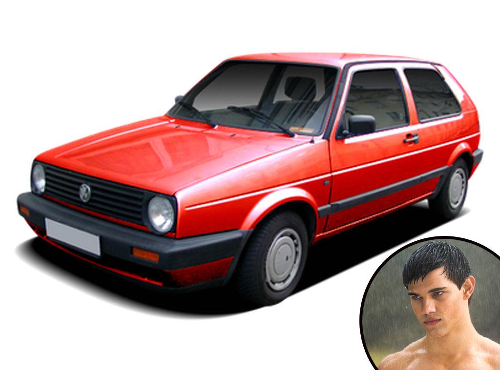 Twilight Cars, Red Volkswagen Rabbit, Taylor Lautner