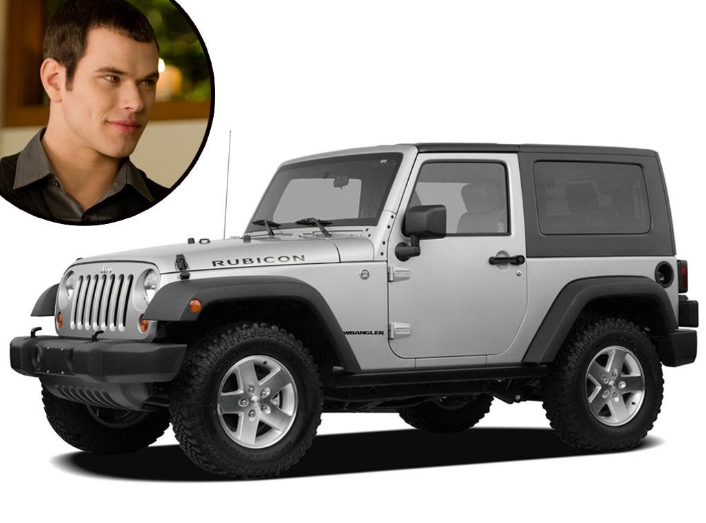 Twilight Cars, Silver Jeep Wrangler, Kellan Lutz