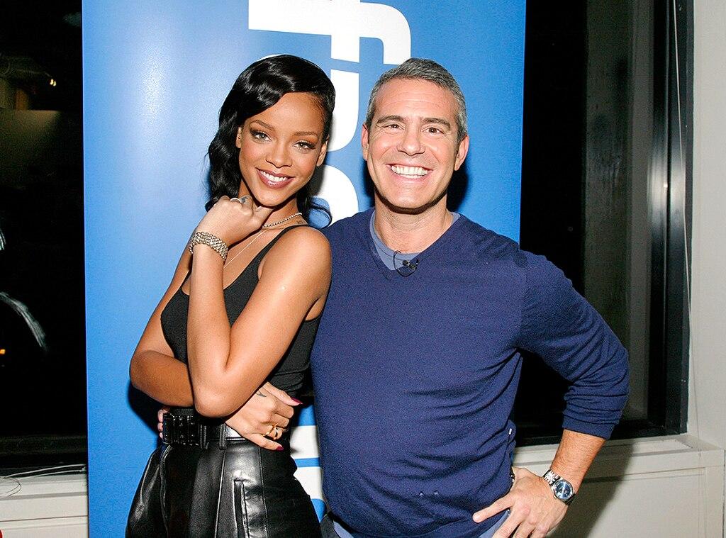 Rihanna, Andy Cohen
