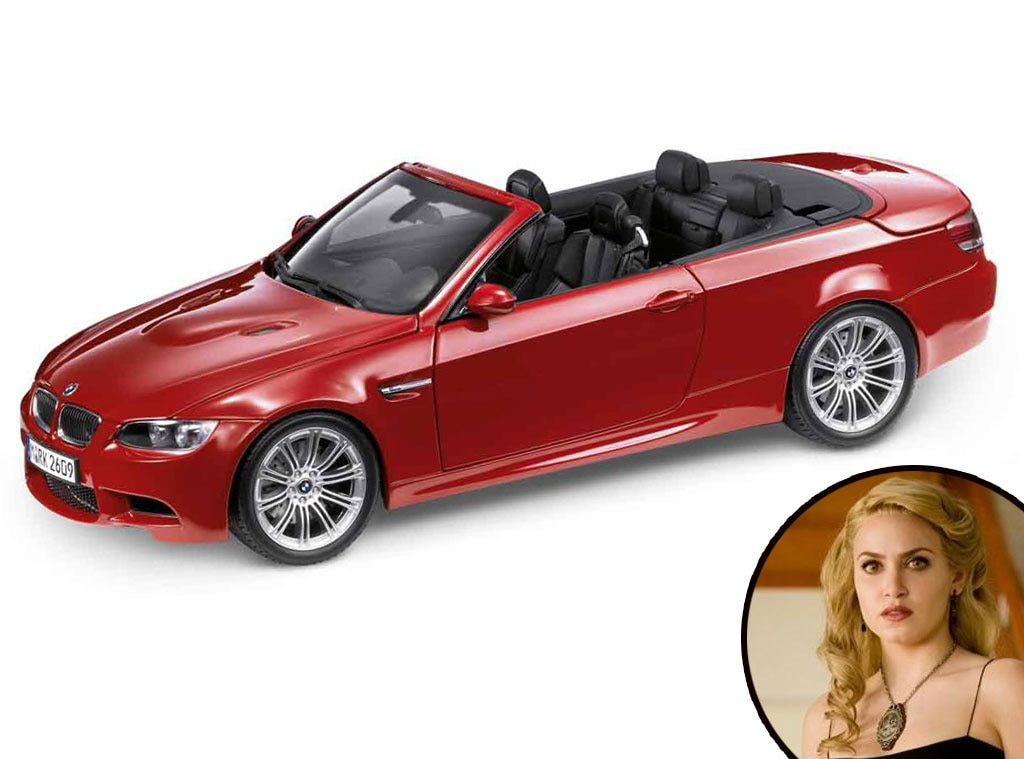 Twilight Cars, Red BMW M3 Convertible, Nikki Reed