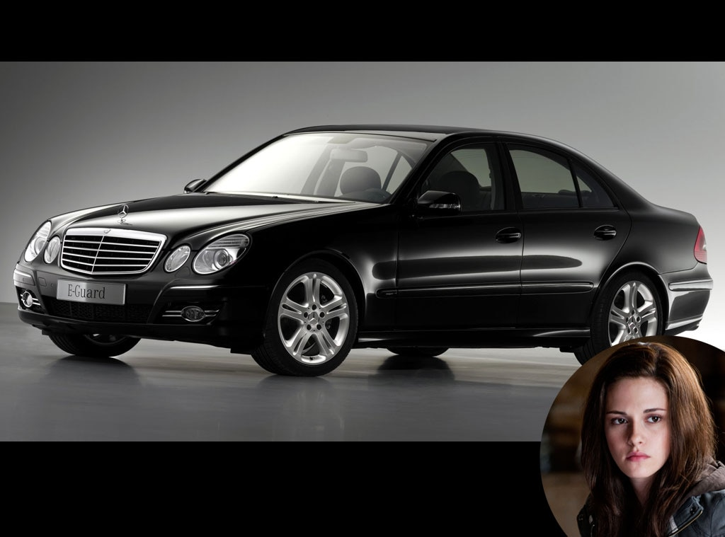Twilight Cars, Black Mercedes S600 Guard, Kristen Stewart
