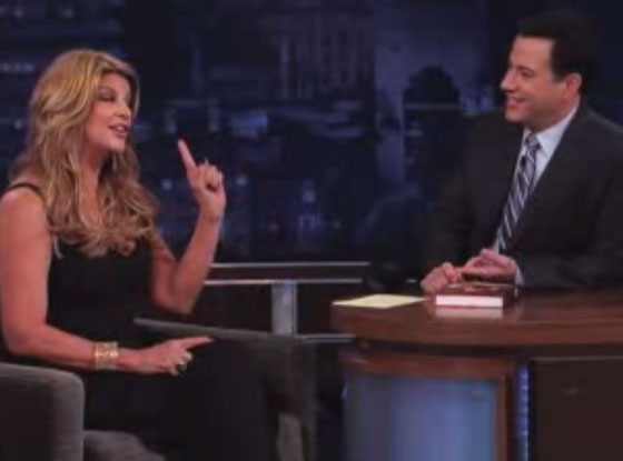 Kirstie Alley, Jimmy Kimmel