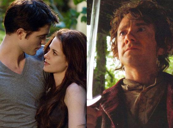 Twilight Saga Breaking Dawn Part 2, The Hobbit: An Unexpected Journey