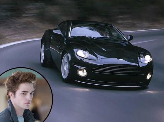 Twilight Cars, Black Aston Martin V12 Vanquish, Robert Pattinson