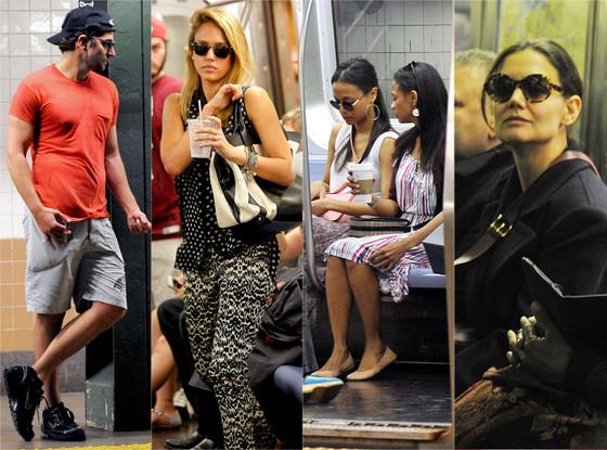 Bradley Cooper, Jessica Alba, Zoe Saldana, Katie Holmes