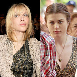 Frances Bean Cobain, Courtney Love