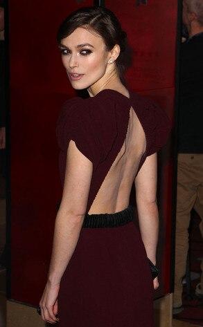 Keira Knightley's Streaky Red Carpet Spray Tan | E! News  Keira Knightley