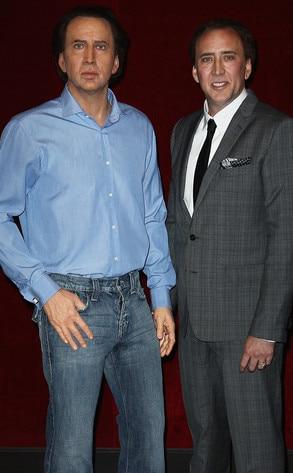 Nicolas Cage, Wax Figure