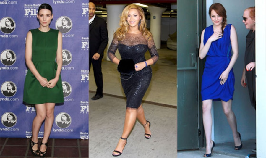Beyonce, Rooney Mara, Emma Stone